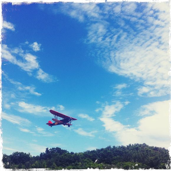 Flying High in the Sky Above the Hudson Valley